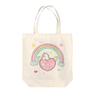 虹とユポコーン🌈 Tote bags