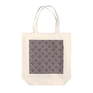 Polka Dots(Vintage Tricolor) Tote bags