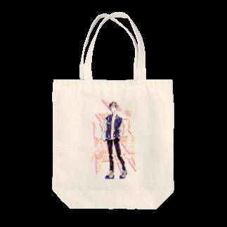 眠田ねむ蔵の春 Tote bags