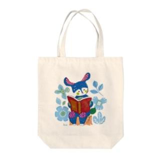 ブルーニー Tote bags