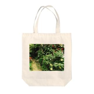 小庭のまるみサン Tote bags