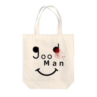 goodman Tote bags