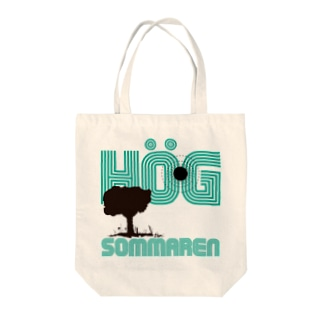 high summer Tote bags