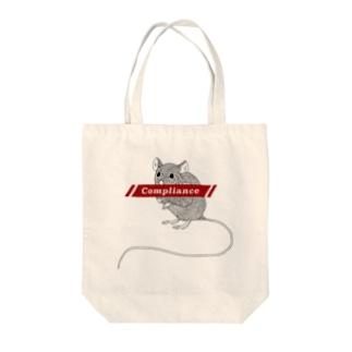ファッ×ンラット Tote bags