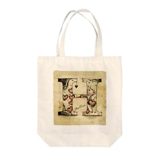 H Tote bags