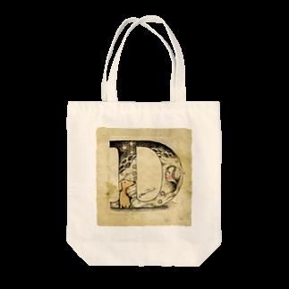 kaeruruのD Tote bags