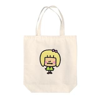 ゆんちゃん(仮) Tote bags