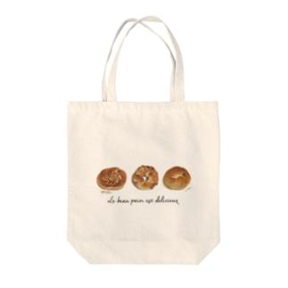 ベーグル Tote bags