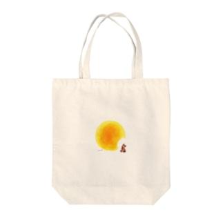 食いしんぼう Tote bags