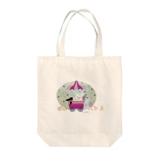 HappyEaster Tote bags