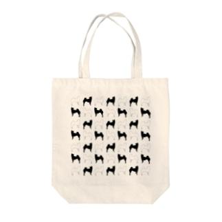 柴犬パターン2 Tote bags