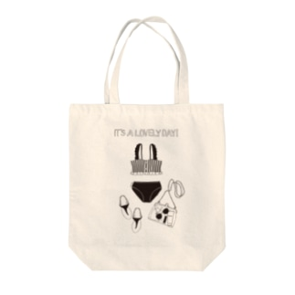 It's a lovely day Tote bags