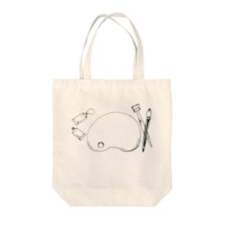 ぱれっと Tote bags
