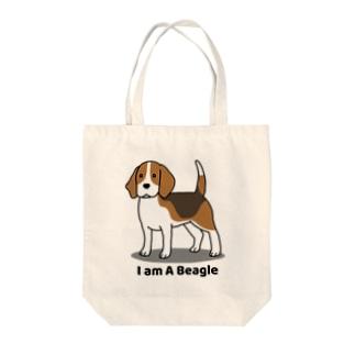 ビーグル1 Tote bags