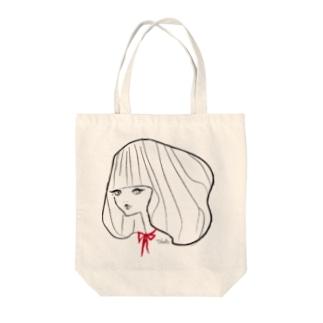 リボンちゃん@Takako Tote bags