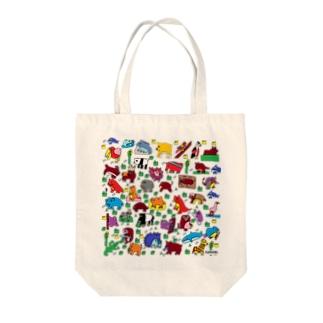 yunimal's ZOO Tote bags