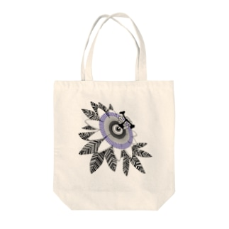 Alba spinaの時計草 Tote bags