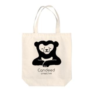 マレーグマ(ロゴあり) Tote bags