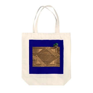 crop moucle Tote bags