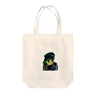 マウさん Tote bags