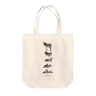 シマウマの正体はインペ Tote bags