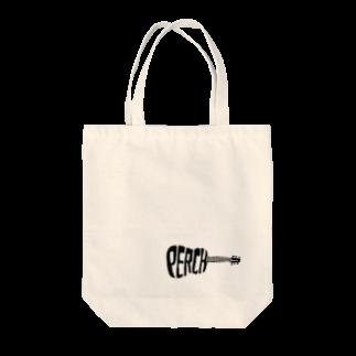マキタの生音楽部☆perchギター(black) Tote bags