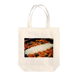 タッカルビ Tote bags