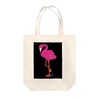 フラ・フラミンゴ Tote bags