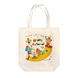 Illustrator イシグロフミカのカーニバル Tote bags