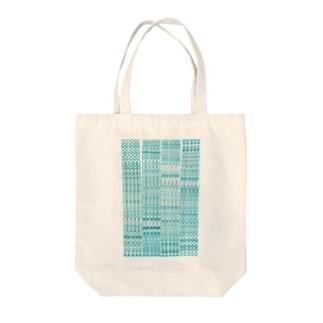 水玉ぼけ Tote bags