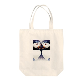 Wパフィン Tote bags