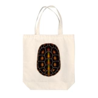 セマルハコガメ Tote bags