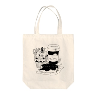 tanka/スイーツとオオサンショウウオ Tote bags