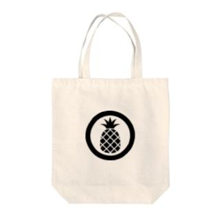 パイナップル BlackOne Tote bags