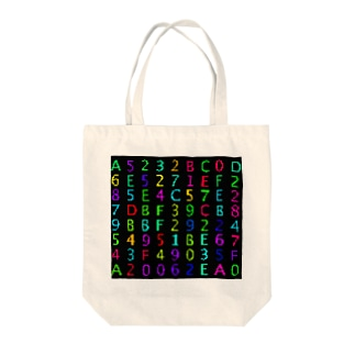 Retro Game Pattern(Hex) Tote bags