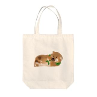 しば(どでか) Tote bags