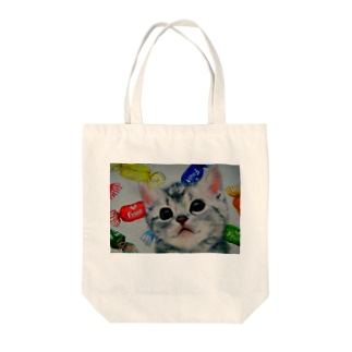 Colorful candy Tote bags