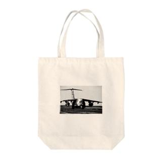 飛行機C-1輸送機 Tote bags