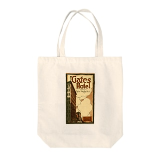 Advertisement, Gates Hotel, Los Angeles [cover] Tote bags