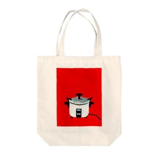 レトロ電気釜 Tote bags