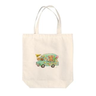 KU-MA アイスクリーム号 Tote bags