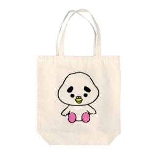 ぽっぽーちゃん2 Tote bags