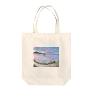 skyさん作!琵琶湖いえあ Tote bags