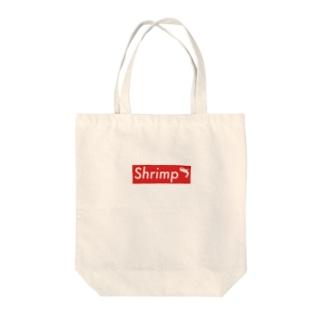 Shrimp Tote bags