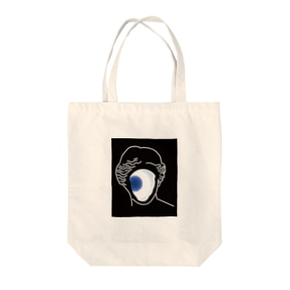 blue ball Tote bags
