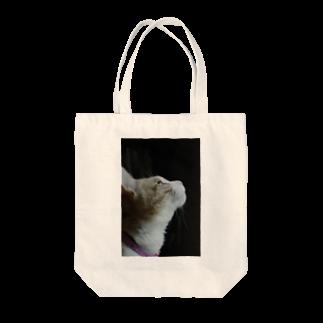 Catoneの猫写真シリーズ Tote bags