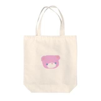 愛情くまさん Tote bags