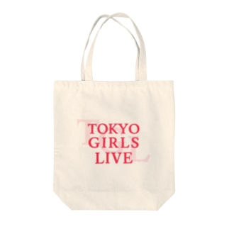 TOKYO GIRLS LIVE Tote bags
