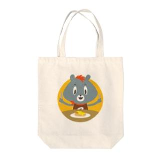 いただきま〜す! Tote bags