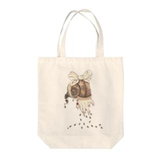 おててちゃん Tote bags